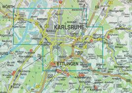 Karlsruhe Germany Map by Location Map And Directions