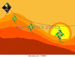 lantern kites kite festival stock vector images alamy