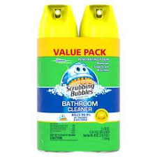 shop scrubbing bubbles 20 oz shower and bathtub cleaner at lowes com