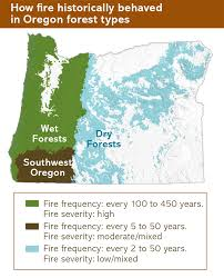 Oregon Forest Fires Map by Fire Oregonforests
