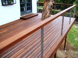 decor outdoor patio design with modern decks and cable deck