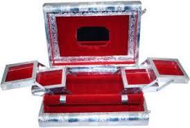 Bridal Makeup Box Fusion Jewels Jewellery Cosmetics Vanity Box Price In India Buy