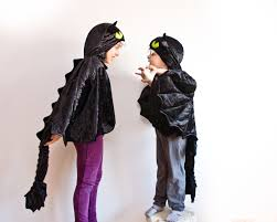 toothless costume etsy black dragon children costume party halloween kid wings how train