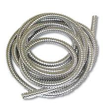 steel necklace wire images Truck headlights 1 4 inch stainless steel flexible wire loom jpg