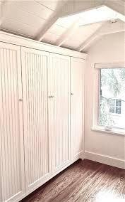 Craftsman Closet Doors Beadboard Inset Closet Doors In Master Bath Craftsman Closet