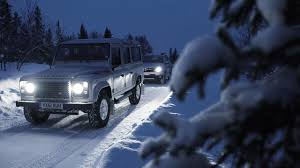 land rover snow land rover defender vs dacia duster on ice top gear
