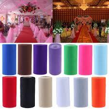 26 7x15cm tissue tulle spool craft wedding decoration tulle rolls