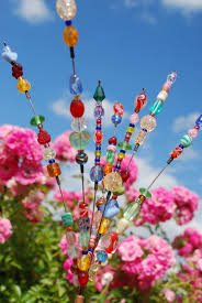 Pinterest Gardening Crafts - garden art bead art beads and gardens