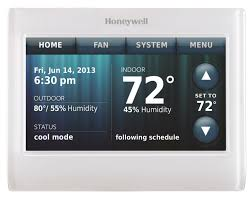 Total Connect Comfort Honeywell Honeywell Th9320wf5003 Communicating Programmable Thermostats