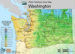 map of washington washington climate zones usda map for plant hardiness
