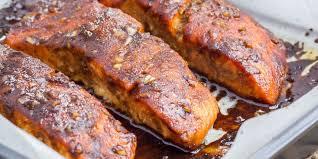 cuisine pavé de saumon pavés de saumon au miel et sésame recettes femme actuelle