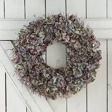 hydrangea wreath blue hydrangea wreath terrain