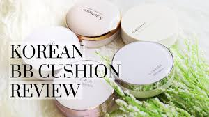 best bb in korea korean bb cushion foundation review ft laneige iope hera more