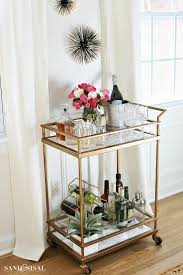 Dining Room Serving Cart by Best 10 Diy Bar Cart Ideas On Pinterest Bar Cart Bar Carts And