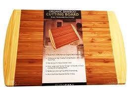 duracasa organic bamboo cutting board u2013 large bamboo cutting board u2013 1