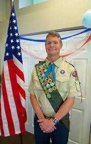 Eagle Scout Flag Thornton Teen Earns Eagle Scout Award Yourhub