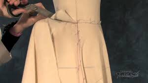 Draped Skirt Tutorial How To Drape A Flared Skirt A Fashion Design Lesson Preview