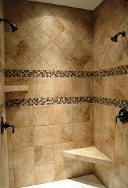 best ideas about tile ready shower pan pinterest bathroom dual head custom ceramic tile shower with oil rubbed bronze fixtures