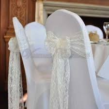 lace chair sashes venues covered chair covers and sashes products