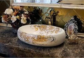 Oval Bathroom Sinks Best Bathroom Superior Ceramic Counter Top Sink Oval Wash Basin