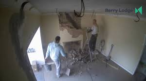 how to remove a chimney breast in less than 60 seconds youtube