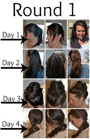 How Long To Wash Hair After Color - one year without shampoo the no poo method the crunchy moose