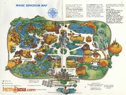 magic kingdom disney map walt disney maps retrowdw