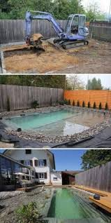 Natural Backyard Pools by How To Build A Natural Swimming Pool Diy Natural Swimming