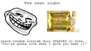 Funny Condom Memes - funny internet memes ep1 troll face condom prank youtube