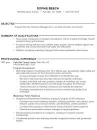 Pleasurable Objective Statement For Resume List Of Objectives For Resume How To Write A Career Objective On