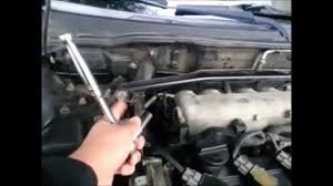 nissan sentra intake manifold fixing butterfly screws on a b15 youtube