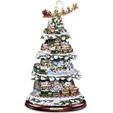 Outdoor Christmas Decorations Train Set by Amazon Com Thomas Kinkade Wonderland Express Animated Tabletop