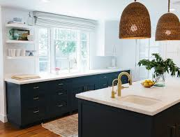 before and after two toned kitchen reno home bunch interior