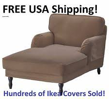 Ikea Chaise Lounge Ikea Solid Pattern Chaise Lounge Furniture Slipcovers Ebay