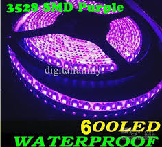 purple led light 5m 16ft 3528 smd bright 48w