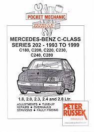 mercedes repair manuals mercedes c class 202 1993 1999 c180 c200 c220 c230 c240