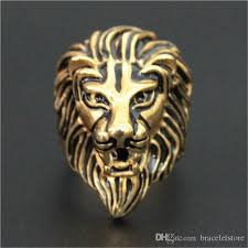 acrylic lion ring holder images Newest lion king ring 16l stainless steel biker style lastest men jpg