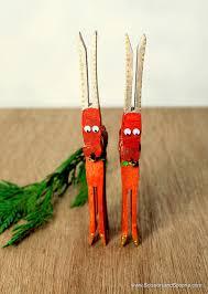 diy a chirstmas craft page reindeer ornaments
