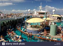 sun deck voyager of the seas royal caribbean cruise line san juan