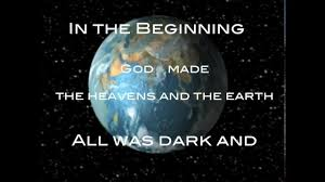 creation the holy bible genesis 1 2 international version youtube