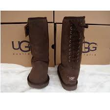 ugg kesey lace up ankle ugg boots lace up side national sheriffs association