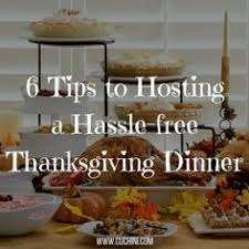 6 tips to hosting a hassle free thanksgiving dinner