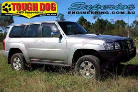 nissan patrol australia price superior 3 inch lift kit nissan patrol gq with tough dog shocks