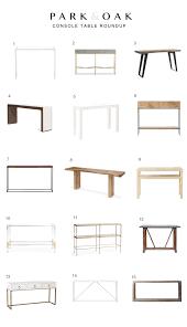 Yukon Console Table Console Table Roundup Park And Oak Interior Design