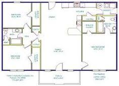 House Plans 1500 Square Feet by One Story House Plans With Open Concept Eva U2013 1 500 Square Feet