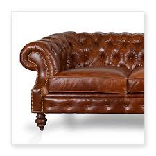 Leather Chesterfield Style Sofa Cococo Custom Chesterfield Leather Tufted Sofas Made In Usa