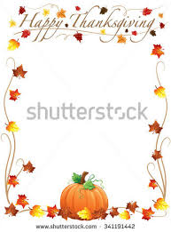 happy thanksgiving borders happy thanksgiving