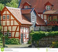 farm houses german farm houses stock image image of roofs terracotta 3481401