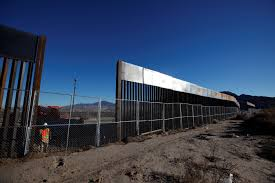 Pictures On The Wall by Here U0027s What The Mexico Border Wall Looks Like Now Pbs Newshour