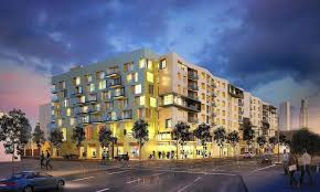 Apartments Downtown La by Another Big Housing And Retail Project Is Underway In South Park